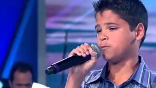 Isac Santos - Fidelidade - Jovens Talentos Kids 04/08/2012