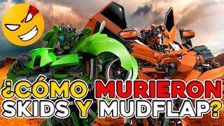 ¿Cómo murieron los gemelos SKIDS y MUDFLAP?   Cinexceso FAQ: TRANSFORMERS   #Mefe