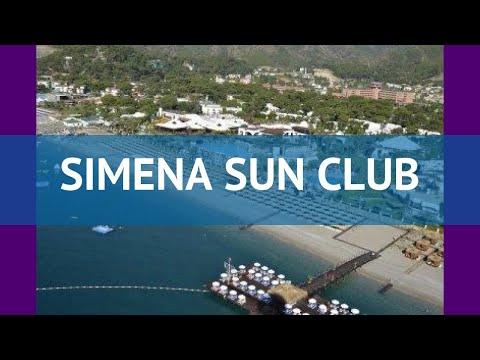 SIMENA SUN CLUB 5* Турция Кемер обзор – отель СИМЕНА САН КЛАБ 5* Кемер видео обзор