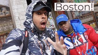 CONCEITED HAD ME WILDnOUT IN BOSTON❗️| Battle Kicks