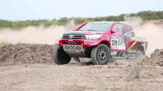 Yazeed AlRajhi - Toyota Factory Driver - test in Dakar 2016