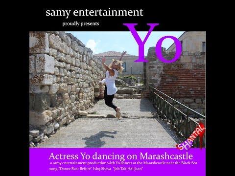 HOt & sexy high heels & wetlook leggings dance with YO