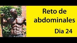 ABDOMINALES EN 30 DIAS ( RETO DIA 24)