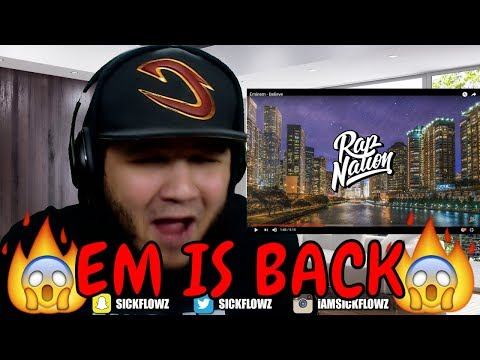 Eminem - Believe (Revival) REACTION!!