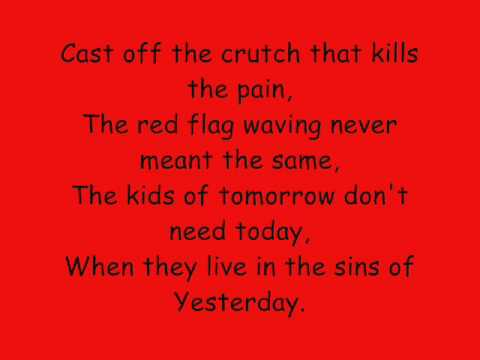 Billy Talent Red Flag Lyrics
