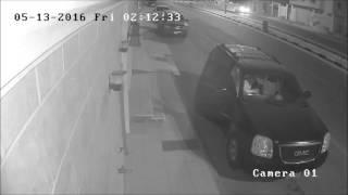 فضيحة كشف وجه سارق سيارة الدكتور الحربي في الدمام حي طيبة