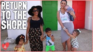 Snooki and JWOWW Return to the JERSEY SHORE! | #MomsWithAttitude Moment