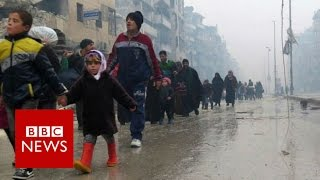 """Aleppo: """"Complete meltdown of humanity"""" says UN - BBC News"""