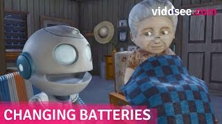 """Changing Batteries - A Robot """"Son"""" Couldn"""