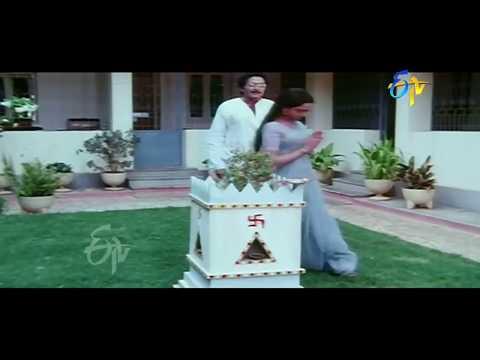 Ee Prasnaku Baduledi Telugu Movie | Rajashekar Romantic Scene | Rajashekar | Jayachitra | ETV Cinema