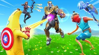 New Fortnite THANOS is BROKEN!