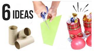 6 Ideas de Reciclaje para Navidad