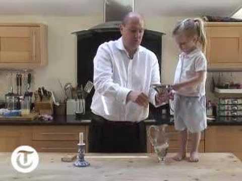 Home experiments The non popping balloon