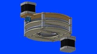 BADMINTON SHUTTLE FEEDER PART 2: dispensing mechanism (diaphragm)