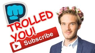 PewDiePie TROLLED YouTube - The Know Entertainment News