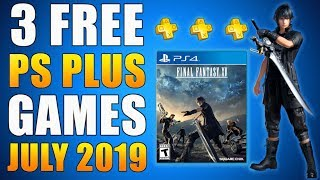 PS PLUS FREE GAMES July 2019 - 3 Free PS4 Games (Playstation News) Early 𝗟𝗲𝗮𝗸𝗲𝗱 𝗥𝘂𝗺𝗼𝗿