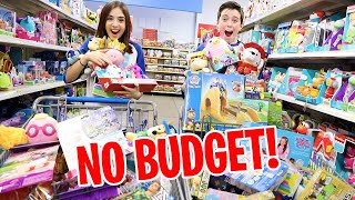 NO BUDGET AT THE TOY STORE!!