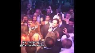 زواج امل بشوشة  من وليد عواضة مع الاغنية التي غنتها له  كاملة - اطول فيديو - 08-09-2015