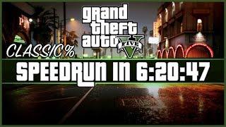 GTA V Speedrun - Classic% - 6:20:47 (1440p, 25k Bitrate)
