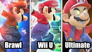 Super Smash Bros: Brawl VS Wii U VS Ultimate (Final Smash Comparison)