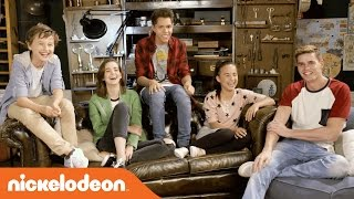 Hunter Street | Hang Out w/ the Hunter Street Cast! | Nick