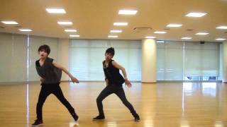 U-KISS NEVERLAND (cover) RAE&BIG DANCE 「練習動画」 衣装VER