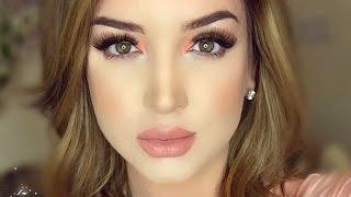 Smokey & Peachy   Makeup Tutorial ♡