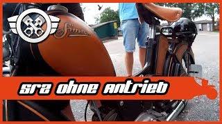 Simson SR2 unterwegs repariert | Rote Ampel Horror | Dual Vlog #7