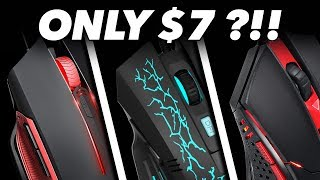 $7 Gaming Mouse? We Try The Best Cheap Gaming Mouses in Fortnite / CS:GO