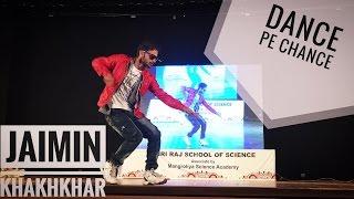 Dance pe chance - rbdj || Showcase performance ||  Bollywood popping animation || Jaimin khakhkhar