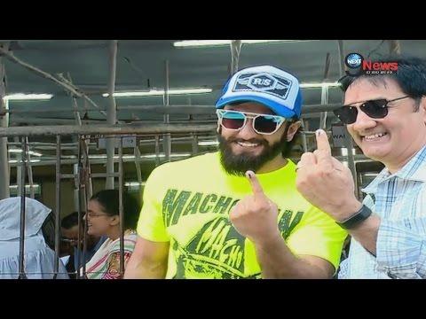 Xxx Mp4 जब वोट डालने पहुंचे बॉलीवुड अभिनेता रणवीर सिंह… BMC Elections Ranveer Singh At Polling Booth 3gp Sex