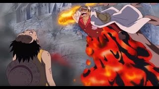 Akainu Goes After Luffy English Dubbed