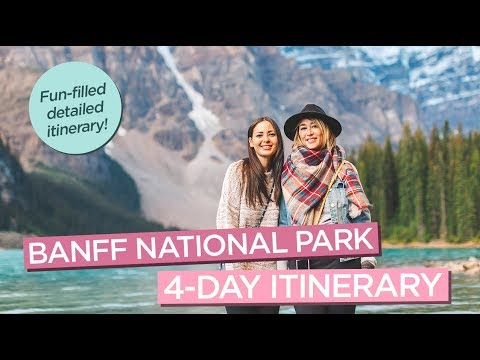 The Ultimate Banff Itinerary Best of Banff National Park in 4 Days