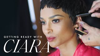 This is How Style Icon Ciara Got Ready for the 2019 ACE Awards | Getting Ready With | ELLE