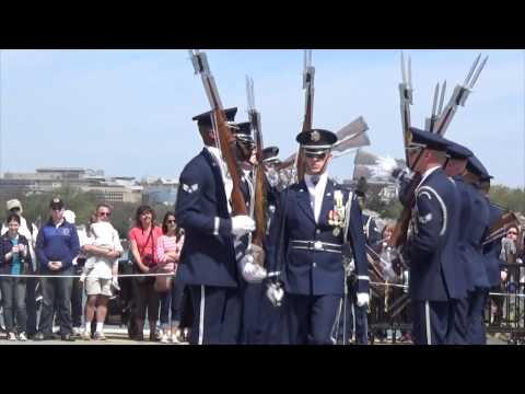 watch JSDTC | 2014 | United States Air Force | Honor Guard Drill Team | Armed Exhibition