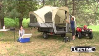 Lifetime Camping Tent Trailer