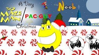 3D Maze Man & Pac Guy Christmas, ThuN00b Review