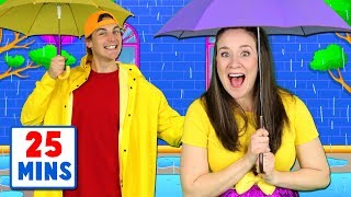 Rain Rain Go Away - Nursery Rhymes and Kids Songs Collection - Popular Songs for Children