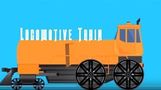 Transformer Locomotive Train Electric Train Bullet Train Vehicle Cartoons Videos For Kids