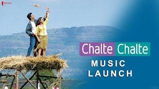 Chalte Chalte   Music Launch   Rani Mukherji, Shah Rukh Khan & Aziz Mirza