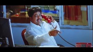 Prajwal Devaraj meets lawyer Raju Talikoti Comedy | Saval Kannada Movie | Kannada Comedy Scene