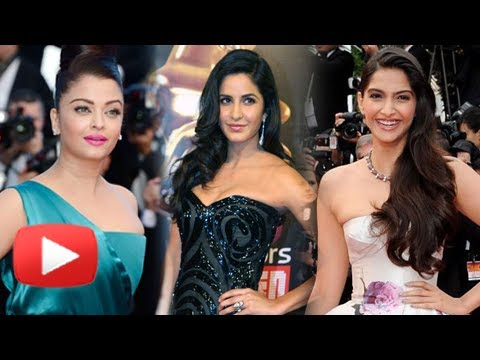 Aishwarya Rai Vs Katrina Kaif Vs Sonam Kapoor - War At Cannes 2014