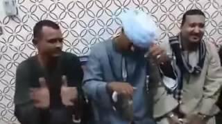 الحج الضوى و الفنان محمود جمعه   مسخره جامده