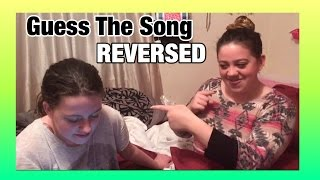 Guess The Song In Reverse Challenge ft. Jaidyn