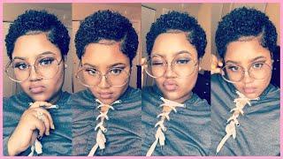 Styling My TWA and Defining My Curls