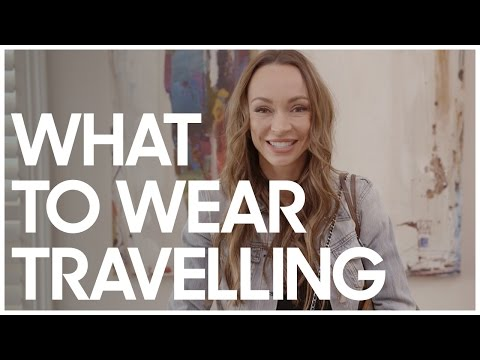 What To Wear Travelling Secrets Of A Stylist