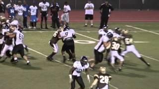 Fullback is a Truck! Montbello High School Football