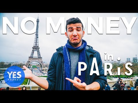 ABANDONED IN PARIS WITH NO MONEY FOR 24 HOURS Wild Night with Strangers
