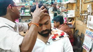 Asmr head massage with neck cracking (Sarwan colleague)