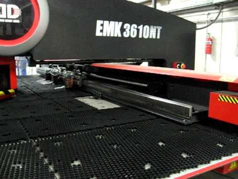 Amada EMK3610 NT turret punch at Elite Machinery Inc.